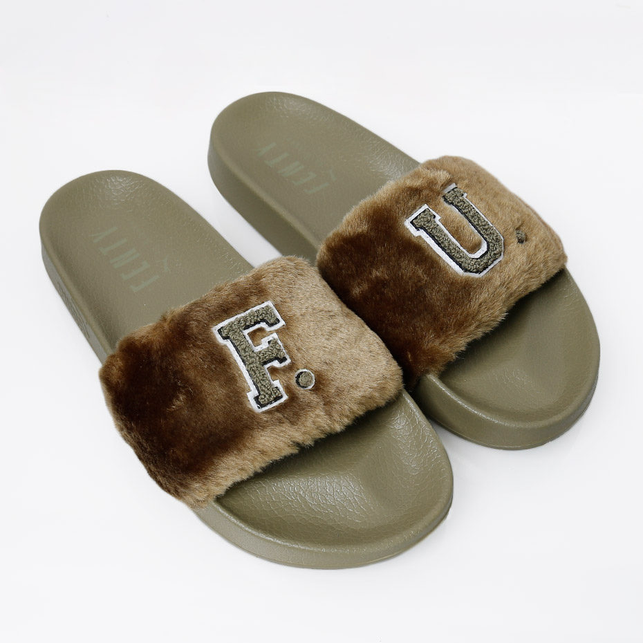 puma pels slippers